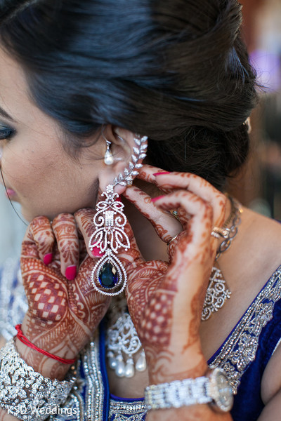 earrings,silver jewelry,mehndi,getting ready
