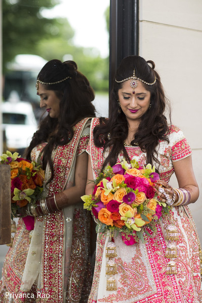 Bridal Portrait in Long Island, NY Indian Fusion Wedding by Priyanca Rao Photography