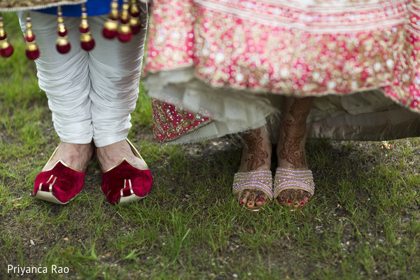 First Look in Long Island, NY Indian Fusion Wedding by Priyanca Rao Photography