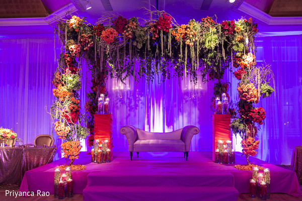 Floral & Decor in Long Island, NY Indian Fusion Wedding by Priyanca Rao Photography