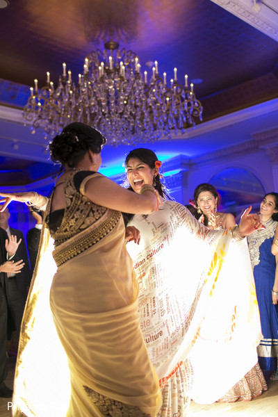 Reception in Long Island, NY Indian Fusion Wedding by Priyanca Rao Photography