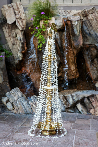 Outdoor Ceremony in Marina del Rey, CA Indian Wedding by Andrena Photography