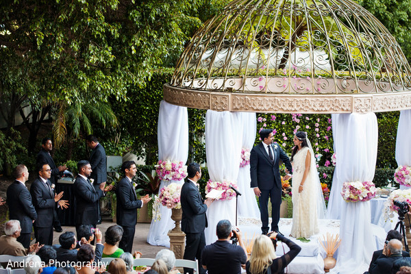 ceremony,outdoor ceremony,indian ceremony,indian wedding ceremony,indian wedding,ceremony mandap,mandap,ceremony decor,venue,sari,suit