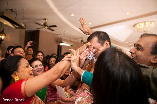 Baraat in Atlanta, GA Indian Wedding by Renee Brock
