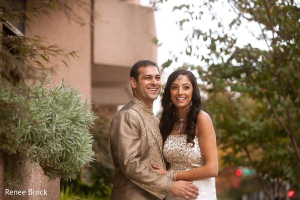 Wedding Portrait in Atlanta, GA Indian Wedding by Renee Brock