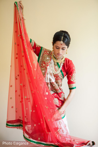 Getting Ready in St. Louis, MO Indian Wedding by Photo Elegance