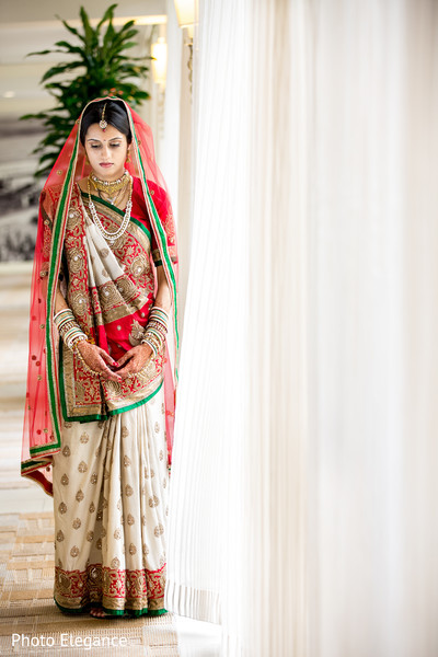 First Look in St. Louis, MO Indian Wedding by Photo Elegance