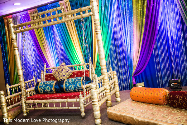 Pre-Wedding Decor in Atlanta, GA South Asian Wedding by  This Modern Love Photography