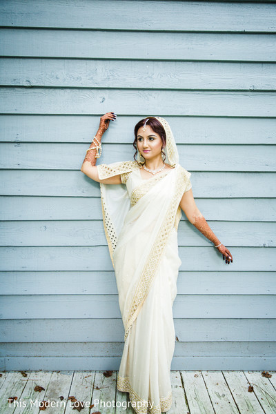 Bridal Portrait in Atlanta, GA South Asian Wedding by  This Modern Love Photography