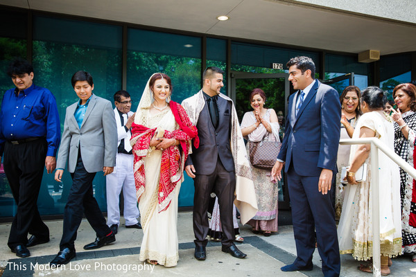 Ceremony in Atlanta, GA South Asian Wedding by  This Modern Love Photography