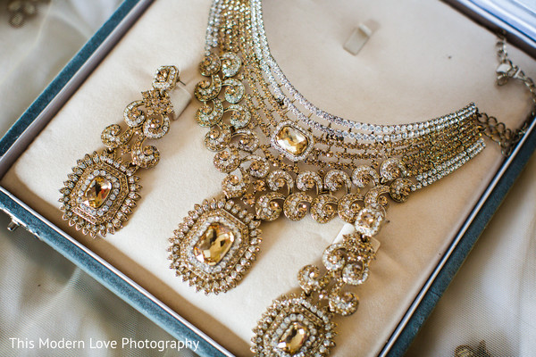 Jewelry Set in Atlanta, GA South Asian Wedding by  This Modern Love Photography