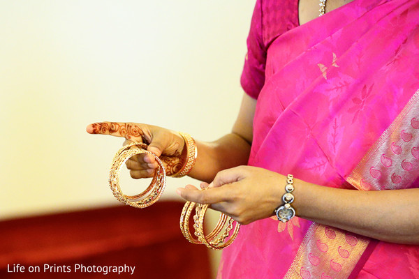 Getting Ready in Naperville, IL Indian Fusion Wedding by Life on Prints Photography