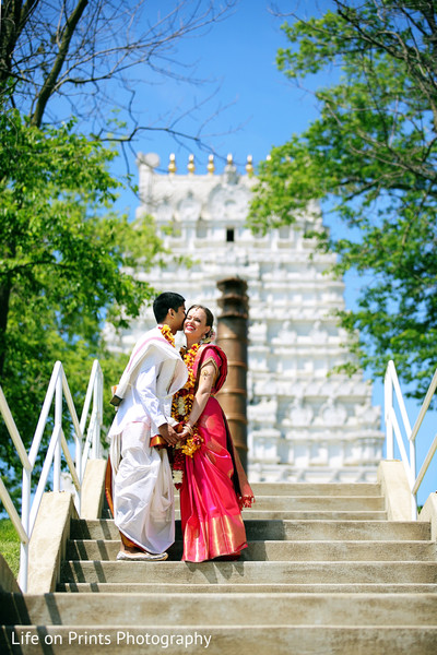 indian wedding portraits,outdoor indian wedding portraits,indian bridal bouquet,indian sari,indian bridal fashions,indian bridal hair and makeup,indian groom sherwani,indian groom fashion