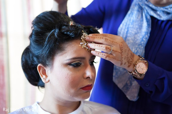 Getting Ready in Burlington, NJ Sikh Wedding by Raj Photo Video