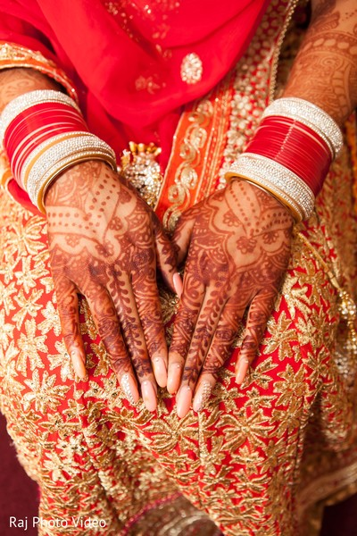Mehndi in Burlington, NJ Sikh Wedding by Raj Photo Video