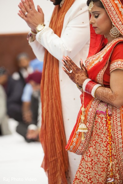 Ceremony in Burlington, NJ Sikh Wedding by Raj Photo Video