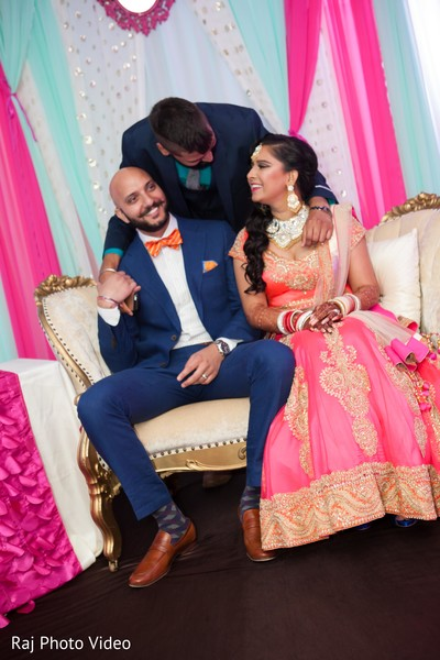 Reception in Burlington, NJ Sikh Wedding by Raj Photo Video