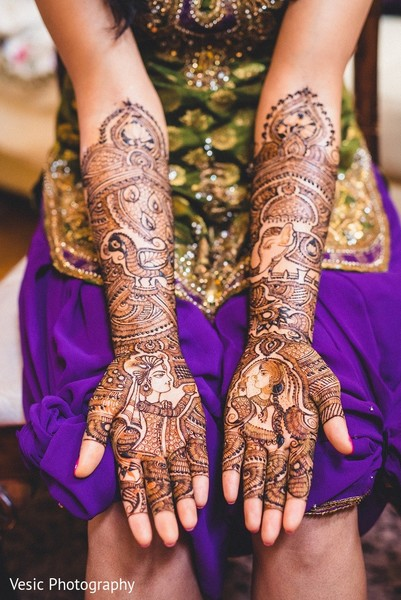 Mehndi in Greensboro, NC Indian Wedding by Vesic Photography