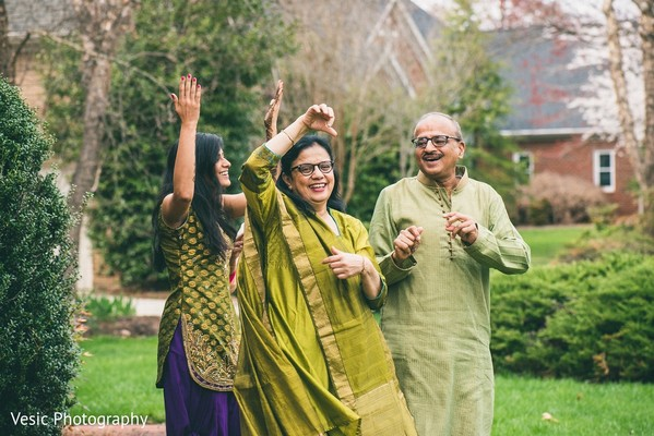 Pre-Wedding Tradition in Greensboro, NC Indian Wedding by Vesic Photography