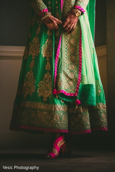 Bridal Fashion Details in Greensboro, NC Indian Wedding by Vesic Photography