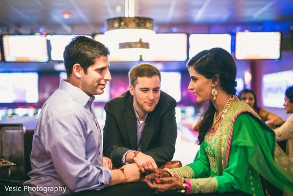 Sangeet in Greensboro, NC Indian Wedding by Vesic Photography