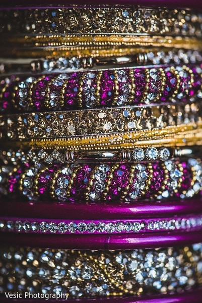 Bangles in Greensboro, NC Indian Wedding by Vesic Photography