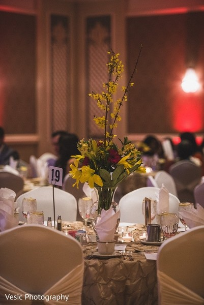 Floral & Decor in Greensboro, NC Indian Wedding by Vesic Photography