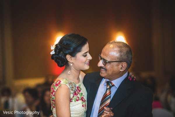 Reception in Greensboro, NC Indian Wedding by Vesic Photography