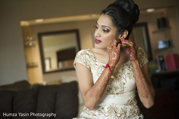 getting ready,mehndi,hair and makeup
