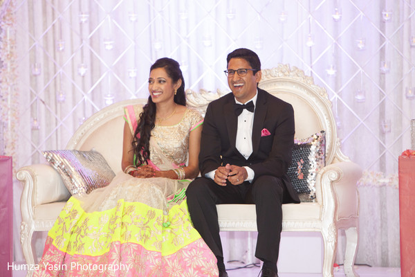 Reception in Grapevine, TX Gujarati Wedding by Humza Yasin Photography