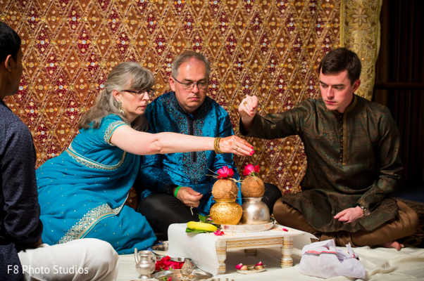 Pre-Wedding Ceremony in Durham, NC Indian Fusion Wedding by F8 Photo Studios