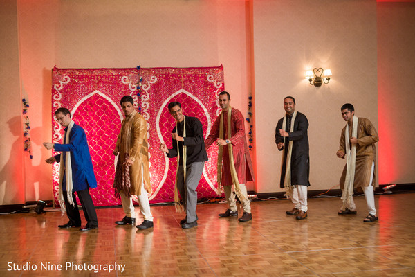 Sangeet in Milford, MA Indian Wedding by Studio Nine Photography