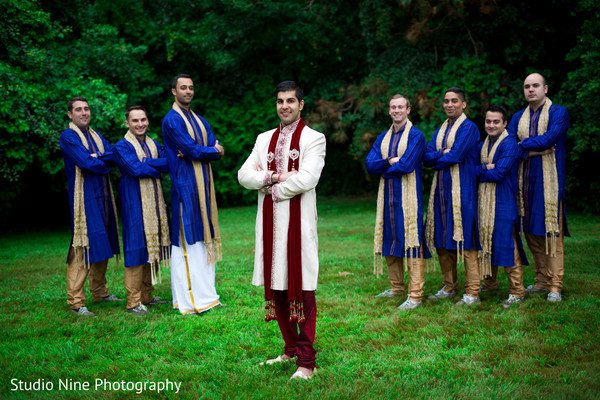first look,first look portraits,groom fashion,sherwani,groomsmen,sherwanis