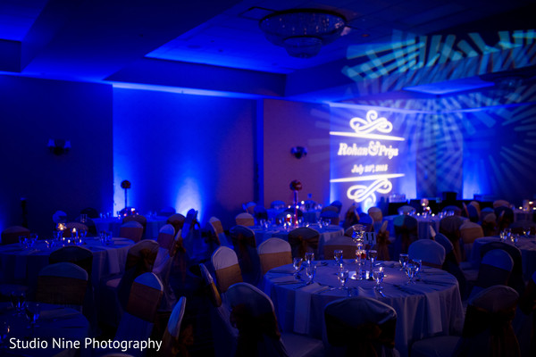 Reception in Milford, MA Indian Wedding by Studio Nine Photography