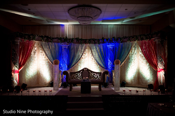 indian wedding reception,reception,reception decor,sweetheart stage