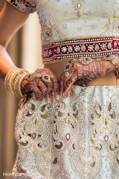 Getting Ready in Dallas, TX Indian Wedding by MnMfoto Wedding Photography
