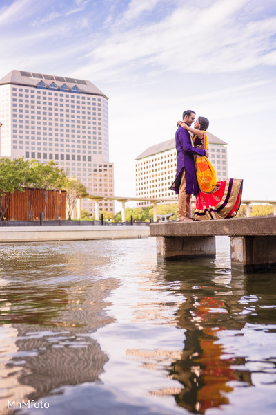 Sangeet Portraits in Dallas, TX Indian Wedding by MnMfoto Wedding Photography