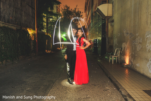 Pre-Wedding Portrait in Mumbai Indian Wedding by Manish and Sung Photography
