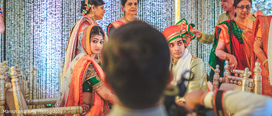 Ceremony in Mumbai Indian Wedding by Manish and Sung Photography