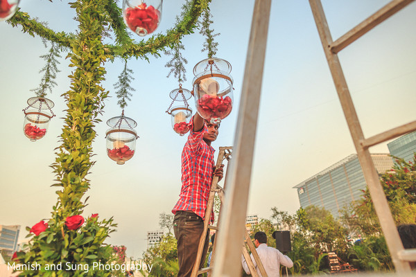 Floral & Decor in Mumbai Indian Wedding by Manish and Sung Photography