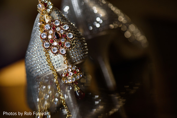 Bridal Jewelry in Philadelphia, PA Indian Wedding by Photos by Rob Futrell