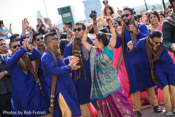 Baraat in Philadelphia, PA Indian Wedding by Photos by Rob Futrell