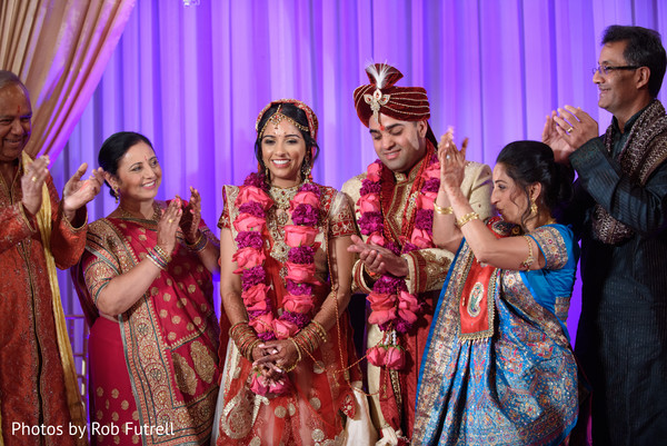 Ceremony in Philadelphia, PA Indian Wedding by Photos by Rob Futrell