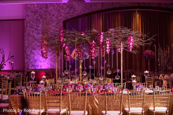 Floral & Decor in Philadelphia, PA Indian Wedding by Photos by Rob Futrell