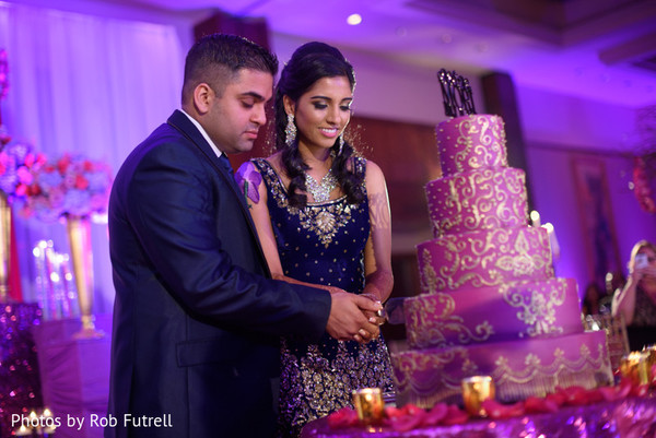 Reception in Philadelphia, PA Indian Wedding by Photos by Rob Futrell