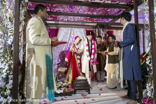indian wedding ceremony,fusion,fusion wedding ceremony,indian fusion wedding ceremony,ceremony decor,mandap