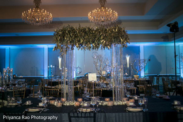 indian wedding reception,reception,reception decor,floral and decor,floral arrangement,floral centerpiece