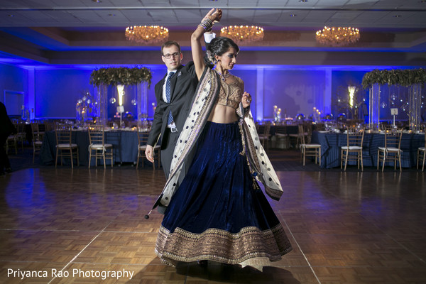 fusion,indian wedding reception,reception,reception fashion,first dance,lengha