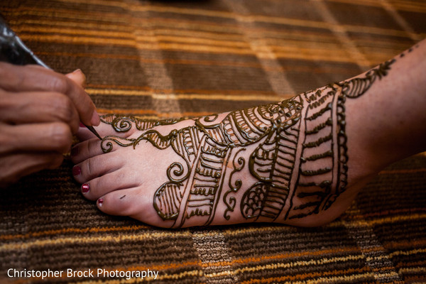 Mehndi in Greenville, SC Indian Wedding by Christopher Brock Photography