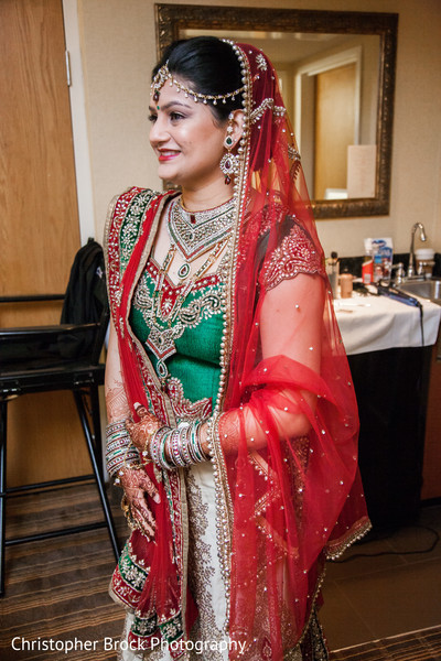 Getting Ready in Greenville, SC Indian Wedding by Christopher Brock Photography